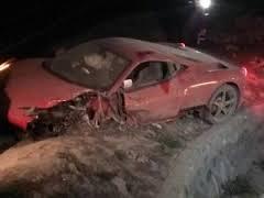 Accidente de Arturo Vidal